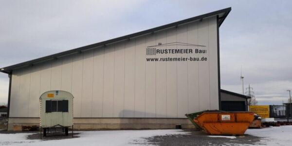 Rustemeier Bau Lagerhalle