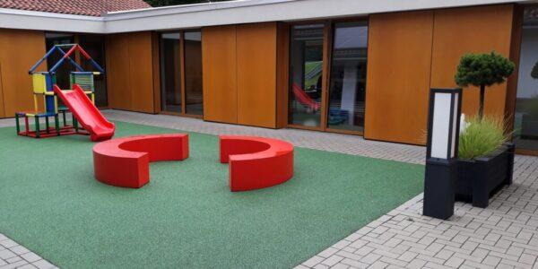 Rustemeier Bau Kindergarten Innenhof