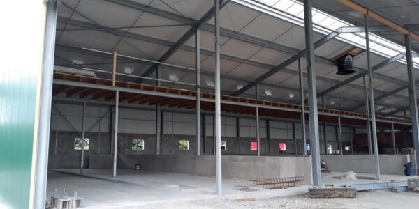 Rustemeier Bau Stall Rohbau